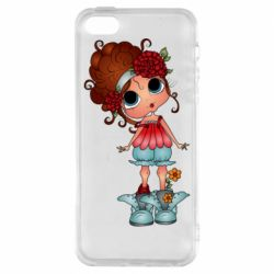 Чехол для iPhone5/5S/SE Girl with big eyes