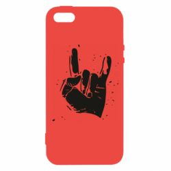 Чехол для iPhone5/5S/SE HEAVY METAL ROCK