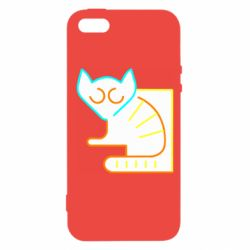 Чехол для iPhone5/5S/SE Lemur vector