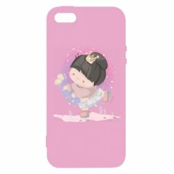 Чехол для iPhone5/5S/SE Little princess and butterfly