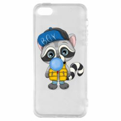 Чехол для iPhone5/5S/SE Little raccoon