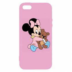 Чохол для iPhone 5 Minnie And Bear