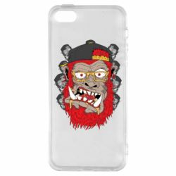 Чехол для iPhone5/5S/SE Monkey Style