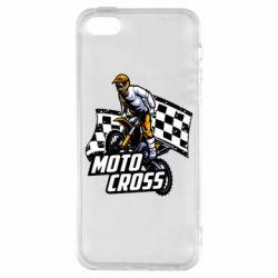 Чехол для iPhone5/5S/SE Motocross