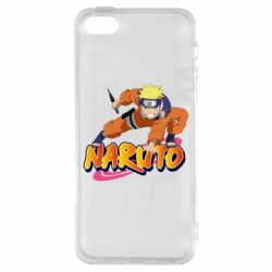 Чохол для iphone 5/5S/SE Naruto with logo
