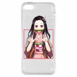 Чохол для iphone 5/5S/SE Nezuko