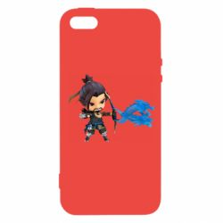 Чехол для iPhone5/5S/SE Overwatch Hanzo Chibi