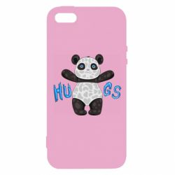 Чехол для iPhone5/5S/SE Panda hugs
