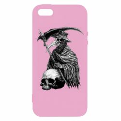Чехол для iPhone5/5S/SE Plague Doctor graphic arts