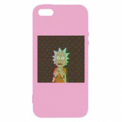 Чехол для iPhone5/5S/SE Rick Fck Hologram
