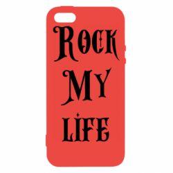 Чехол для iPhone5/5S/SE Rock my life