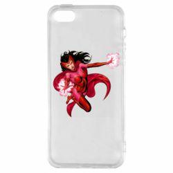 Чохол для iphone 5/5S/SE Scarlet Witch comic art