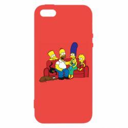 Чехол для iPhone5/5S/SE Simpsons At Home