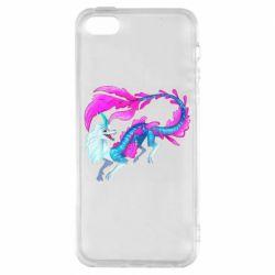 Чохол для iphone 5/5S/SE Sisu Water Dragon