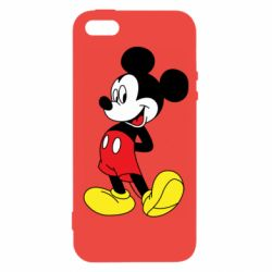 Чехол для iPhone5/5S/SE Smiling Mickey