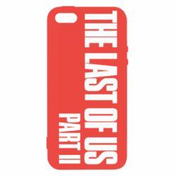 Чехол для iPhone5/5S/SE The last of us part 2 logo