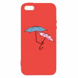 Чехол для iPhone5/5S/SE Umbrella love Color