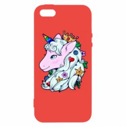 Чохол для iPhone 5 Unicorn Princess