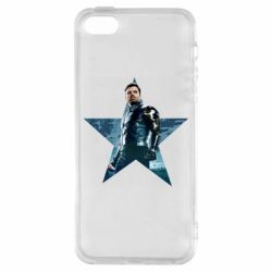 Чохол для iphone 5/5S/SE Winter Soldier Star