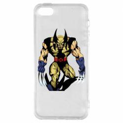 Чохол для iphone 5/5S/SE Wolverine comics