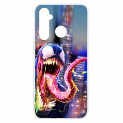 Чехол для Realme 5 Pro Venom slime