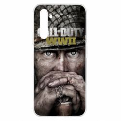 Чехол для Realme 6 Call of Duty WWII