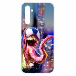 Чехол для Realme 6 Venom slime