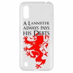 Чохол для Samsung A01/M01 A Lannister always pays his debts