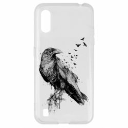 Чохол для Samsung A01/M01 A pack of ravens