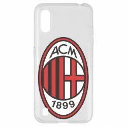 Чохол для Samsung A01/M01 AC Milan