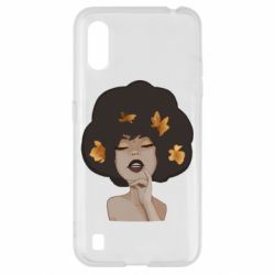 Чохол для Samsung A01/M01 Afro girl in autumn shades