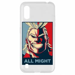Чехол для Samsung A01/M01 All might