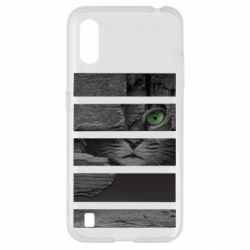 Чехол для Samsung A01/M01 All seeing cat