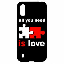 Чохол для Samsung A01/M01 All You need is love