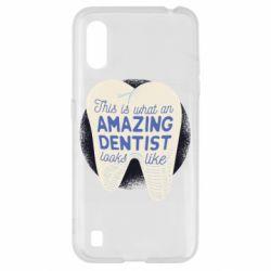 Чохол для Samsung A01/M01 Amazing Dentist