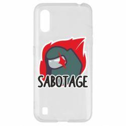 Чохол для Samsung A01/M01 Among Us Sabotage