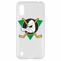 Чехол для Samsung A01/M01 Anaheim Mighty Ducks