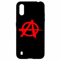Чехол для Samsung A01/M01 Anarchy