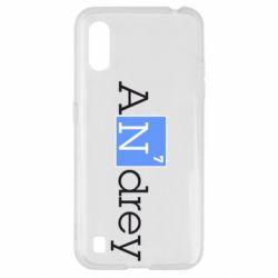 Чехол для Samsung A01/M01 Andrey