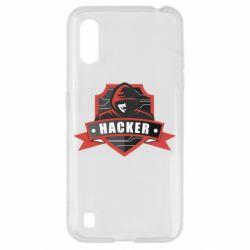 Чохол для Samsung A01/M01 Anonymous Hacker
