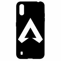 Чехол для Samsung A01/M01 Apex legends logotype