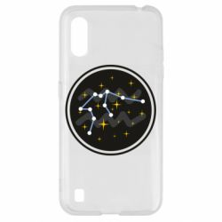 Чехол для Samsung A01/M01 Aquarius constellation