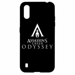 Чохол для Samsung A01/M01 Assassin's Creed: Odyssey logotype