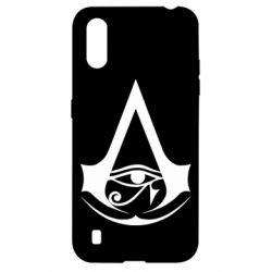 Чохол для Samsung A01/M01 Assassin's Creed Origins logo