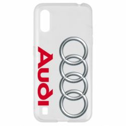 Чохол для Samsung A01/M01 Audi 3D Logo