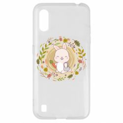 Чехол для Samsung A01/M01 Autumn rabbit