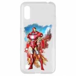 Чохол для Samsung A01/M01 Avengers iron man drawing