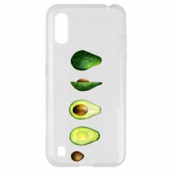 Чехол для Samsung A01/M01 Avocado set