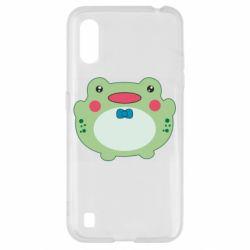 Чохол для Samsung A01/M01 Baby frog