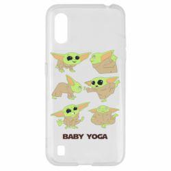 Чехол для Samsung A01/M01 Baby Yoga